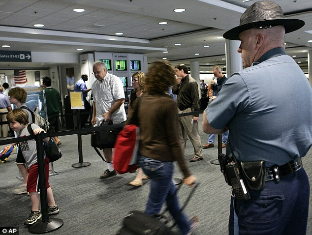 Serious claims: TSA agents at Boston's Logan International Airport have alleged that a program intended to help flag possible terrorists has led to rampant racial profiling