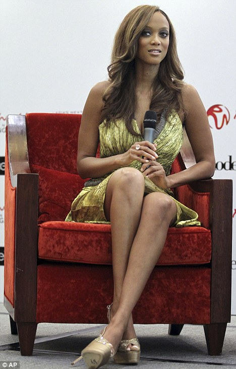 Tyra Banks is in Singapore to promote Asias Next Top