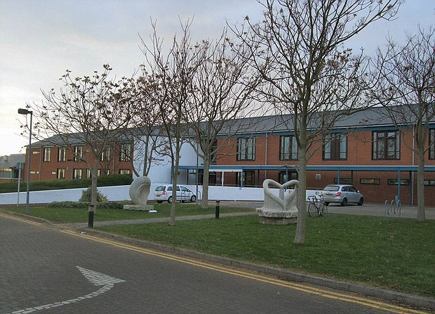 Worrying: A report on Mill View Hospital, pictured, had identified that ¿vulnerable people have unaccompanied access to environments where ligature points exist, placing them at risk of harm¿