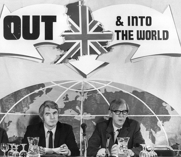 What might have been: The unsuccessful 'No to Europe' campaign in 1975