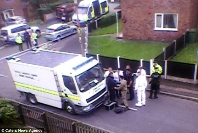 Telford evacuation unexploded bomb