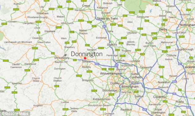 Donnington Telford Shropshire