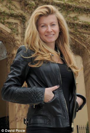 Wife Mirjana McKenzie at their home in Hertfordshire last year