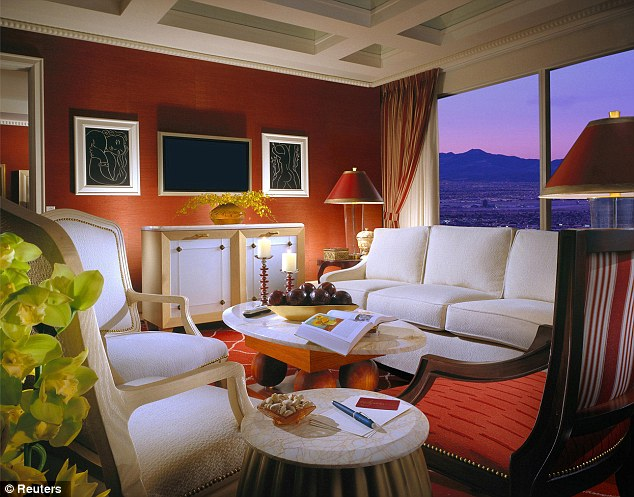 Expensive: A suite at the Wynn Resort in Las Vegas is among the most expensive hotel rooms in Vegas