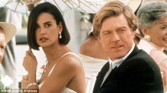Echoes movie: The claim echoes 1993 film Indecent Proposal in which a billionaire (Robert Redford) offers a couple money if he can sleep with the wife (Demi Moore)