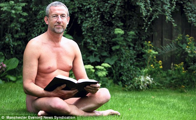 A Man Of No Cloth Reverend 55 Is A Practising Naturist And Tells Tv Documentary The Bible Celebrates Nudity