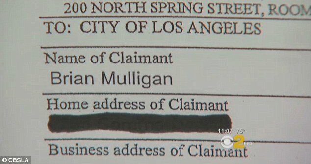 Lawsuit: The bank magnate is suiting the LAPD for $50million after the altercation left him with nasal fractures and other injuries