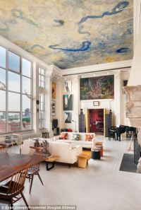Beautiful $20million New York apartment boasts 24ft-high ...