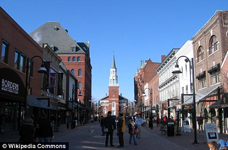 Visitors: The city of Burlington has been encouraging tourists from Quebec to visit Vermont and spend their money