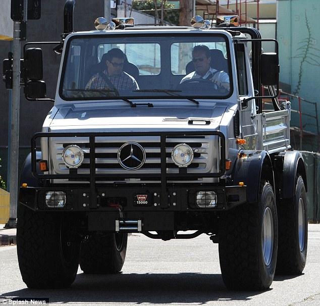 A Big Car For A Big Star Arnold Schwarzenegger Suffers A