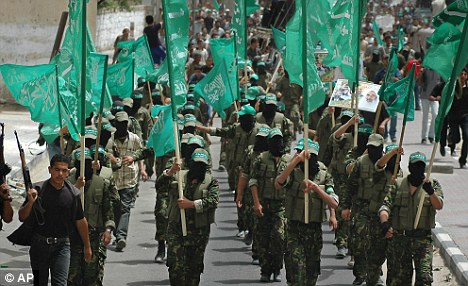 Crackdown: Hamas has been rolling back personal freedoms since the military Islamist party was elected to the Gaza strip in 2007