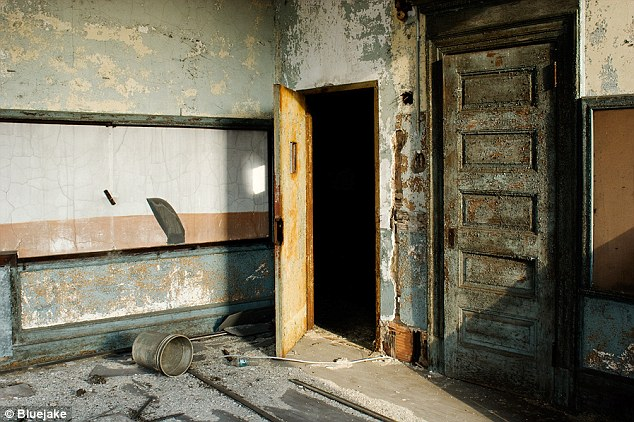 Schools out forever Eerie images show abandoned school