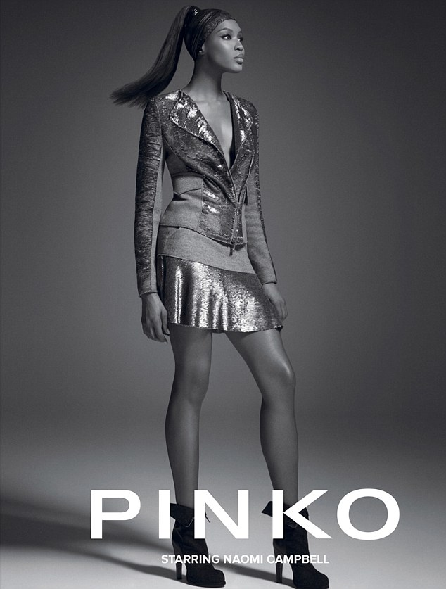 'Easy to forgive': Pinko chairman Pietro Negra says that the supermodel is demanding of herself and others