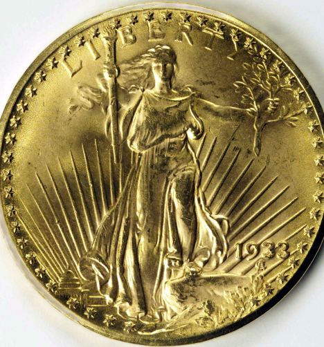The Double Eagle $20 gold coin originates from the days of the Great Depression, but never entered circulation