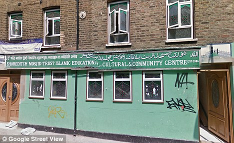 Secret: Another retired Imam - who worships at the Shoreditch Mosque in east London - was happy to marry a 12-year-old girl but only if her parents told no-one about it