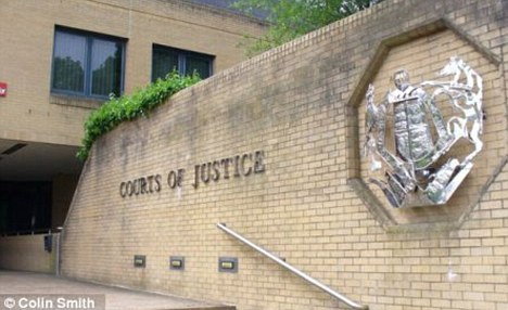Scandal: The juror at Southampton Crown Court asked to be stood down because he is racist and homophobic