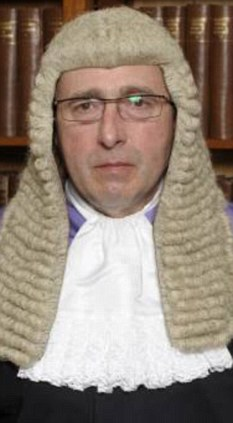 Questions: Judge Gary Burrell read the letter out in court and admitted he did not know if his views were genuine