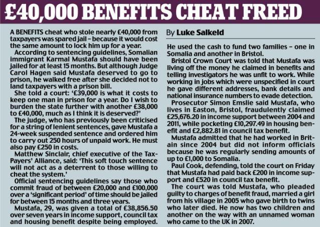 40000 beneficios engañar liberado