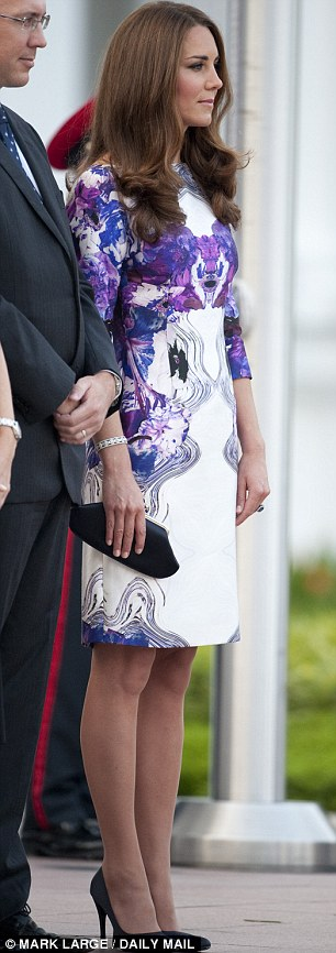 Kate Middleton And Prince William Visit Orchid Created For