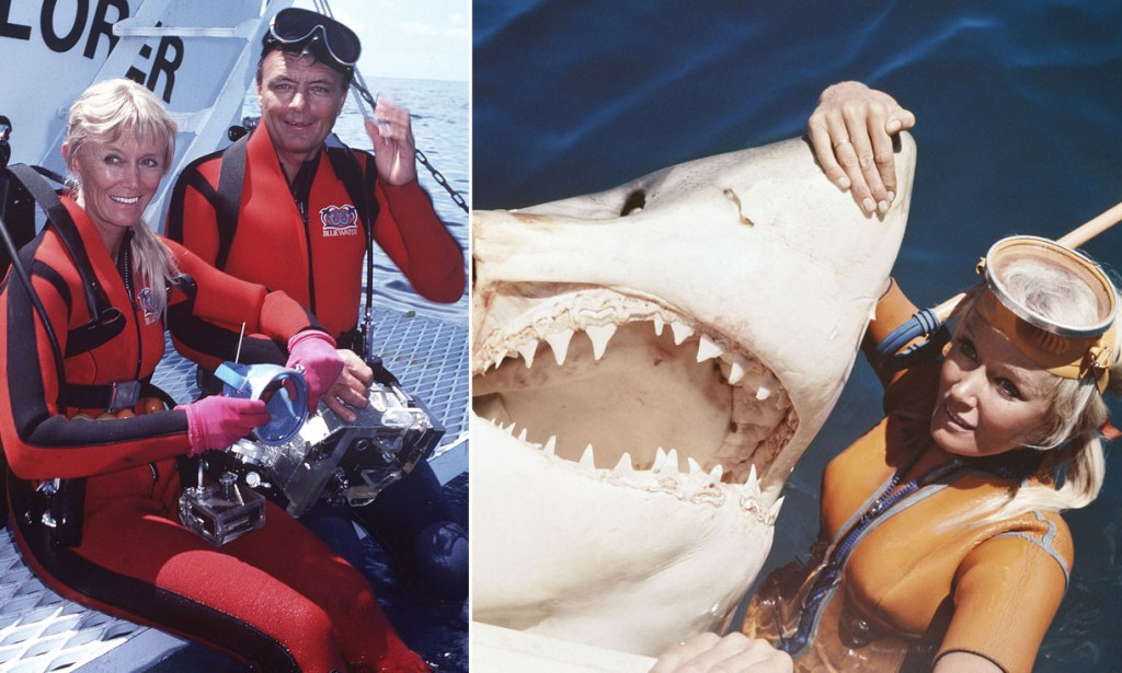Jaws camerman dies Inside the world of Ron Taylor pioneering underwater cameraman for Jaws