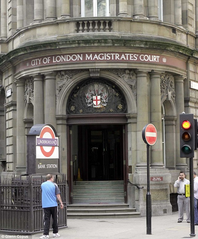 Hearing: London Magistrates' Court was told the assault took place hours before the Egyptian team joined other Paralympians for Sunday's closing ceremony