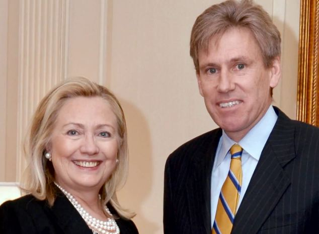Fury: Christopher Stevens US ambassador to Libya and Hillary Clinton. The film sparked violent attacks against U.S. diplomatic compounds in Libya and Egypt yesterday, killing five American citizens, including the US diplomat