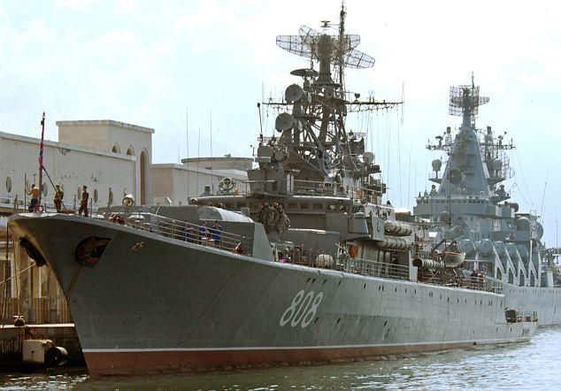 Russian Federation frigate