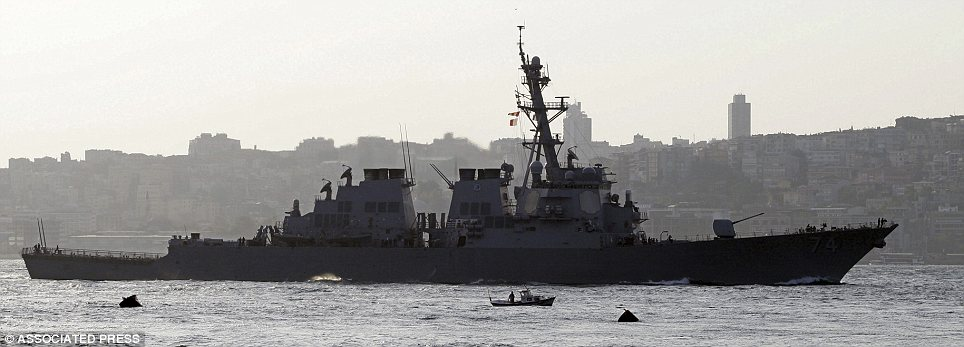 Destroyer: The USS McFaul is en route and should be stationed off the coast of Libya within days