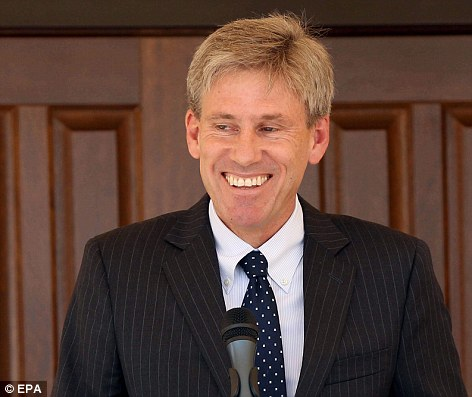US Ambassador to Libya Christopher Stevens, who was killed in an attack on the US consulate in Benghazi