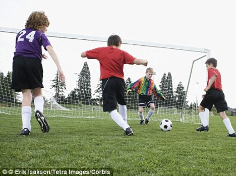 Placed in a position of trust by Texas parents, Mondragon-Guzman was a soccer coach for 10-year-old boys (stock image)