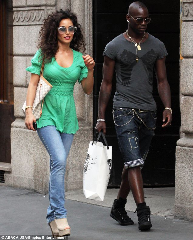 Miss Thompson said Bennett did not compare to Manchester City star Mario Balotelli, who she slept with behind his girlfriend Raffaella Fico's back