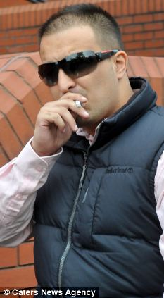 Bungled insurance fire: Shahbaaz Khan who allegedly started the fire with Fiaz Ahmed Ansari who died in the explosion at Kams Grill in Leicester