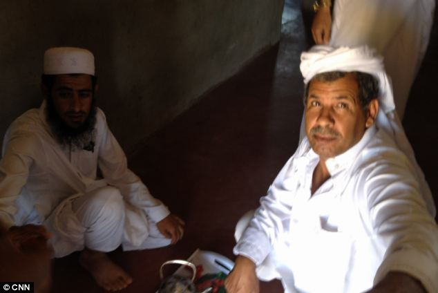 Determined: Sheikh Mohamed Abu Billal and Sheikh Ibrahim al Munai who are leading the fight agasint human traffickers in the lawless Sinai region