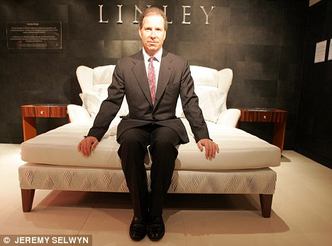 Legal action is being threatened to recover a £400,000 loan by a Moscow bank to Viscount Linley's bespoke furniture business
