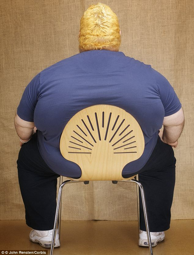 Unhealthy lifestyles: A rising number of obese people is partly to blame for the shift, researchers found