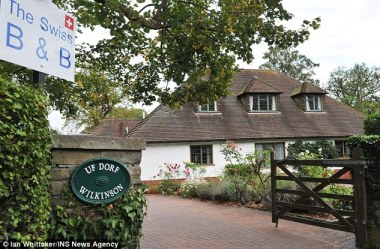 The Swiss Bed & Breakfast property in Cookham, owned by Mr & Mrs Wilkinson, caught up in the discrimination row