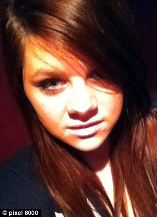 Search continues: Megan Stammers, 15, was last seen on CCTV boarding a ferry to Calais on Friday night in a car driven by Forrest