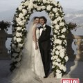 Perfect moment martine mccutcheon and jack mcmanus tied the knot in a