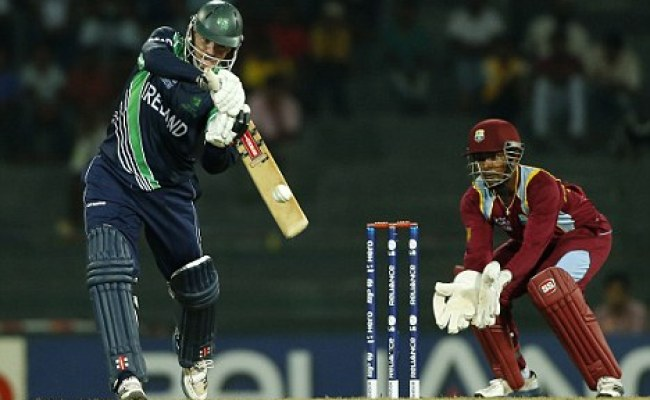 World Twenty20 2012 Ireland Match Abandoned V West Indies