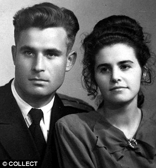 Man Who Saved the World. Vasili and wife Olga in 1957