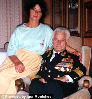 Man Who Saved the World Vasili with his daughter Yelena three years before he died