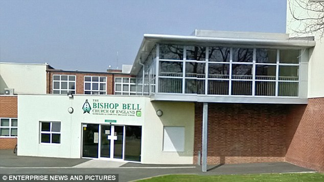 Denial: The Bishop Bell Church of England school in Eastbourne claim they have robust procedures in place to protect their pupils