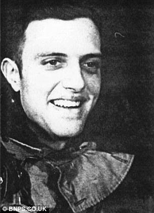 On board: Sergeant Ronald Cope