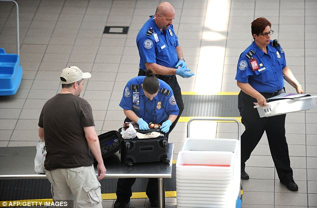 Shocking: Almost 400 TSA security officers have been fired over luggage theft in less than a decade (stock image)