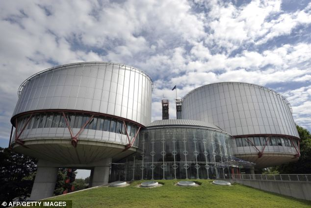 Glacial pace: The European Court of Human Rights in Strasbourg, France, where judges took four years to finally rule that the extradition of Hamza was indeed lawful