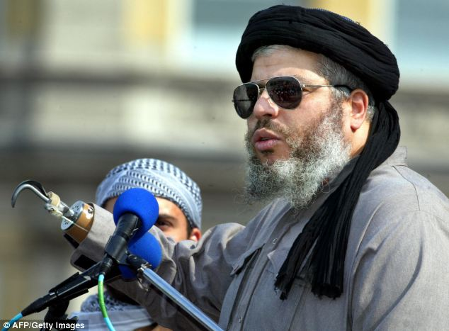 Abu Hamza has nine children from two marriages including a stepson with his second wife. Of the seven sons only two have not been in trouble with the law