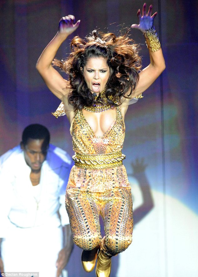 Fierce: Cheryl Cole wowed crowds with a stellar performance at the Odyssey arena in Belfast. The show kicks off her A Million Lights solo tour