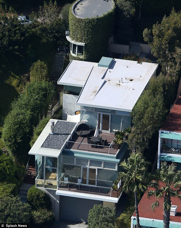 Beach life: Kristen reportedly spent $4.8m on a Malibu home