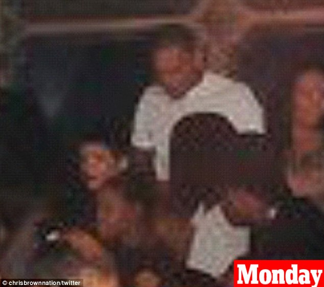 Fuelling rumours: The pair were first seen 'back together' as they partied at the Griffin Club in the Meatpacking District