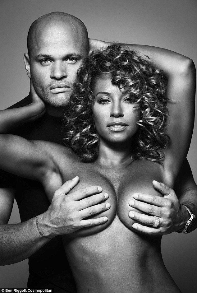 Mel B Nude Photos : photos, Cosmopolitan, Editor, Defends, Topless, CoppaFeel, Photos, Breast, Cancer, Awareness, Month, Daily, Online